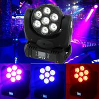Wholesale NJ L7 W LED Stage Moving Head Light Beam DJ Club Party Show Concert Wash Lamp
