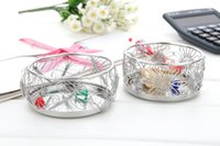 Wholesale F5 F6 BUGS FLOWERS FITTING PEN PENCIL CUP BOX HOLDER STAINLESS HAND MADE ART CRAFTS WEDDING BIRTHDAY HOME GARDEN OFFICE GIFT PRESENT CUTE