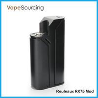 Wholesale Authentic Wismec Reuleaux RX75 Mod Best Match with the Amor Mini Atomizer Wismec Reuleaux RX TC box Mod