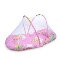 Wholesale New Spring Winter Months Baby Bed Portable Foldable Baby Crib With Netting Newborn Sleep Bed Travel Bed