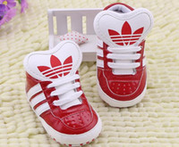 Wholesale new PU lace baby toddler shoes cheap kids shoes months children s soft soled shoes color in stock