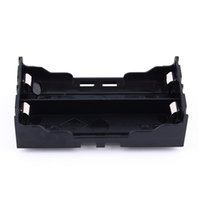 Wholesale High Quality Black Plastic DIY Lithium Battery Box Battery Holder with Pin Suitable for V V Lithium Battery