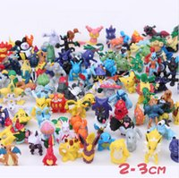 anime figure collection - Go Action Figure Toys cm Pikachu Pocket Monster Figure Model For Collection Anime Brinquedos
