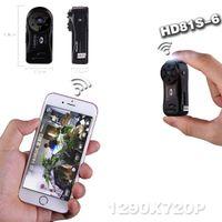 Wholesale Wireless WiFi Mini SD Card Hidden Spy Camera Non luminous Infrared Night Vision