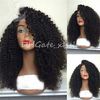 Wholesale Kinky Curly Wig High Density Full Lace Wig Human Hair For Black Women a Brazilian Lace Front Wigs