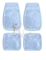 Wholesale factory Universal PVC CAR MAT clear car floot mat catching water transparent plastic car mat auto accessories non slip floor mat for all car