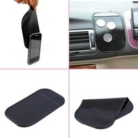 anti slide mat - 100 Anti Slip Slide Super sticky suction Car Dashboard magic Sticky Stowing Tidying Pad Mat Mats for Phone PDA mp3 mp4 hot sale