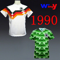 Wholesale Free ship Jersey Germany Retro Away home World Cup Italia Home Shirt have video show shirts