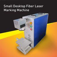 barcode metal - Industry Supper Speed Desktop Barcode Laser Marker watt Laser coding Machine can work on metal and plastic tag