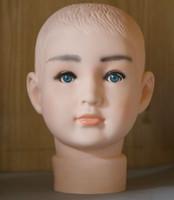 Wholesale top quality kid Mannequin Head Hat Display Wig training head model head model child head model