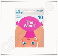 Wholesale 2144pcs CCA3754 Newest High Quality NoseFrida Baby Fridababy The Windi Gas And Colic Reliever for Babies Nosefrida Aspirador Nasal Cleaner