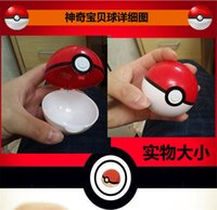 Wholesale Magic pet catch Pokeball Pocket Monsters pikachu balls Cosplay New Pokeball Master balls great gifts for kids new arrival