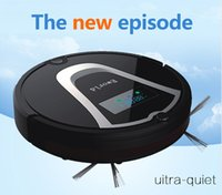 air controler - Eworld Vacuum Cleaning Robot Mini Automatic Robot Vacuum with Remote Controler Virtual Wall and Cleaning Brush Black