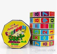 Wholesale Baby Kids Child Math Numbers Cube Rubics Faceted Mind Game Puzzle Education Toys Brand New Good Quality