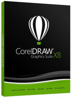 Wholesale CorelDRAW Graphics Suite X8 Retail Multi Language Only key number new