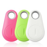 Wholesale Hot hot selling anti lost smart bluetooth tracker Child Bag Wallet Key Finder GPS Locator Alarm Colors Newest