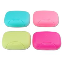bathroom travel case - Big Size Bathroom Soap Dishes Box Portable Plate Case Home Shower Travel Hiking Holder Container Soap Boxes