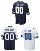 bailey football - Cheap Cowboys customize high quality embroidery football elite jerseys any name and ang number BAILEY SANDERS