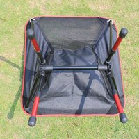 aluminum garden chair - NEW Lightweight Folding Chair Heavy Duty Aluminum Alloy Stool Seat For Camping Hiking Fishing Garden BBQ with Carry Bag