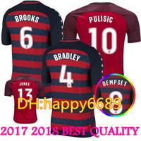 c54ed0b72 Soccer Men Short 2018 Gold Cup US Red Soccer Jerseys 17 18 USMNT Limited  Edition Special