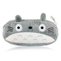 Wholesale Totoro Cute Plush Pencil pen Bag Pouch Pen bag