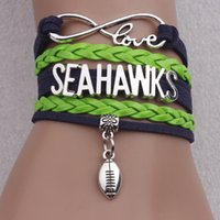 best words - 2016 Fashion Leather Bracelets love s word Infinite Football Multilayer Woven Bracelet Bangles Lovers Best Gifts Accessories