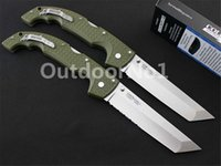Wholesale Cold Steel UXTGH VOYAGER XL CTS XHP knife Tanto oversized Voyager series outdoors Hunting knives tools