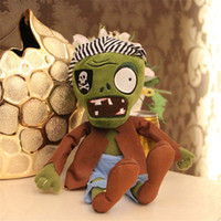 aquatic plants sale - 30CM Green Zombie Plants vs zombies doll plush toy Doll Stuffed Animals Baby Toy for Children Gifts toys Hot sale
