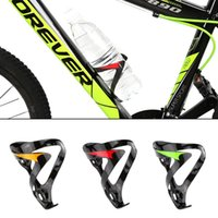 bicycle water bottles - Carbon Fiber Bike Bicycle Water Bottle Holder Cage Rack Outdoor Sports Accessories