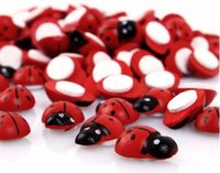 Wholesale Cute Ladybug Shaped Fridge Sticker Cartoon Animal Pattern Decoration Toy for Kids bag bags