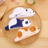 Wholesale x cute Lazzy Animals correction tape material escolar kawaii stationery office school supplies papelaria M