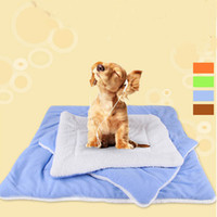 Wholesale Soft New Cozy Warm Dog Mats Kennel Blanket Cushion Machine Washable Standard Pet Pad Of Dog House Bed Cat Nest Car Seat Cover