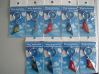 Wholesale metal Wings keychain