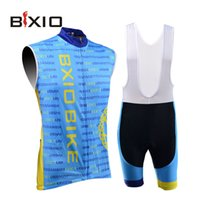 bicycle imports - Bxio Unisex Cycling Jersey New Arrival Light Blue Sleeveless Bicycle Clothes China Imported Camisa Ciclismo BX B041