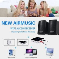 Wholesale Airplay DLNA DMR Music Radio Receiver iOS Android Airmusic Air music WIFI HiFI Audio Receiver MP3 FLAC APE Wi Fi Music Box