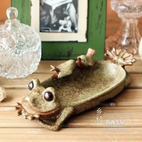 ash soap - Ceramic frog ashtray Soap box soap to receive disc flower pot Ash Tray Pocket Ashtray cm