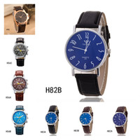 best belts style - Best gift fashion business men watches Quartz wrist watches Geneva the anti fatigue watch pieces a mixed style GTPH84