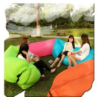 Wholesale 2016 Most Popular Inflatable Outdoor Air Sleep Sofa Outdoor Cushion Decorative Pillow DHL fast