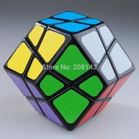 Wholesale Lanlan Dodecahedron Skewb Magic Cube Black Intelligence Twisty Puzzle Toy for Children Professional cubo magico Collection