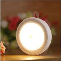 art deco night stand - LED Stick on Portable Wireless Motion Sensing Closet Cabinet LED Night Light Wardrobe Display Lamp Long Stand by for closet locker forcer