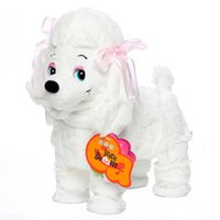 Wholesale 3 Kinds Electronic Toys Singing Walking Dog Kids Electronic Toys Color Electronic Pet Robot Dog Toys for Children