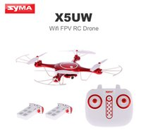 Wholesale US Stock Original Syma X5UW Wifi FPV Quadcopter P HD Camera RC Drone with Two Battery RTF from coolcity2012