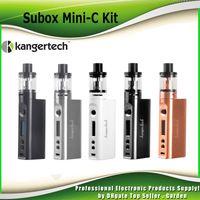 Wholesale Authentic Kanger Subox Mini C Starter Kit W with Protank Tank SSOCC ohm Coil KangerTech kbox Mini C Box Mod genuine