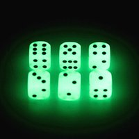 bar drinking games - Luminous Dice mm D6 Glowing Dice Bosons Drinking Games Funny Family Game For Party Pub Bar Toys Good Price High Quality S2