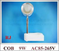 Wholesale 9W COB LED rail spot light LED tracking light track lights W COB led Epistar AC85 V aluminum CE ROHS year warranty