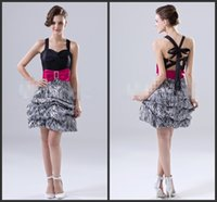 aline cocktail dresses - Aline Prom Little Black Cocktail Party Dress Elegant Simple Criss Cross Back Ruch Up Mini Homecoming Dressed Custom Made Beautiful Good Sell
