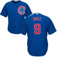 Wholesale Men s Chicago Cubs Javier Baez Royal Home MLB Baseball Jersey Blue Size S XL