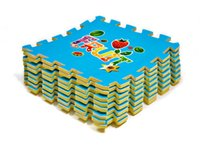 Wholesale Floor Puzzles Mats for Kids High Quality Waterproof Corrosion Resistant PE Thick Squares Climb Mats for Gym Exercise