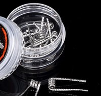 Wholesale Hot Prebuilt Juggernaut coil Resistance ohm G G Resistance Juggernaut Wire Fit RDA RBA E Cigarette Fast Shipping
