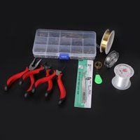 beading tool set - Super practical Jewelry Tool Sets Beading Tool Kit Beads caps Jewelry findings Accessories DIY Beads Work Tools ZH BDH010